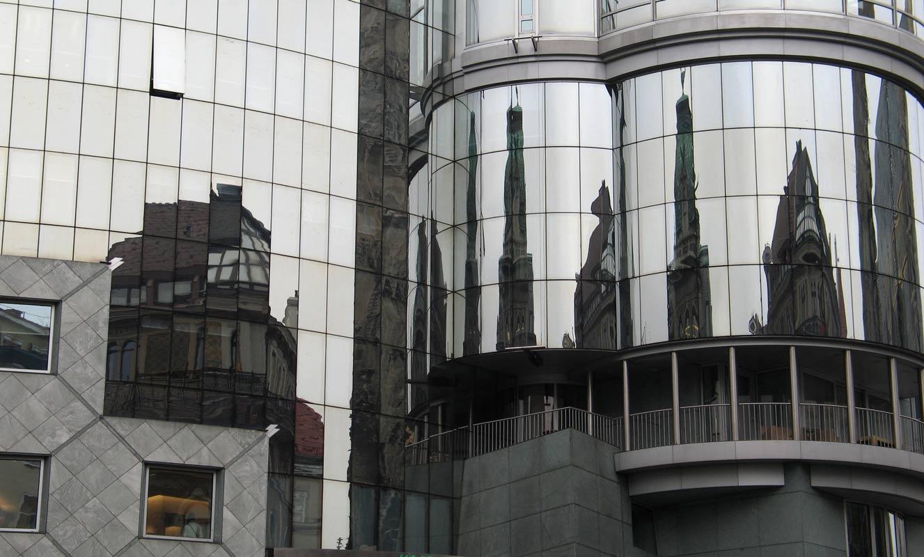 """фото """"Отражения Вены"""" метки: архитектура, путешествия, пейзаж, Европа"""