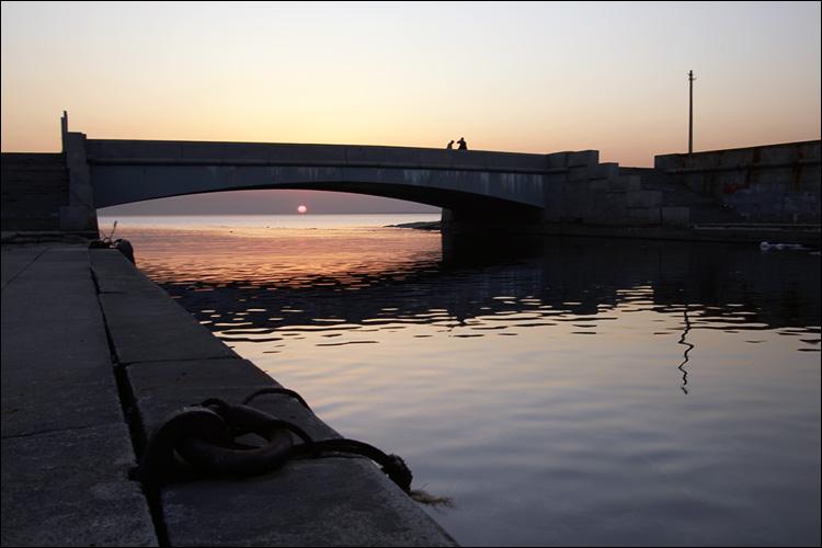 """фото """"Солнце под мостом"""" метки: архитектура, пейзаж,"""