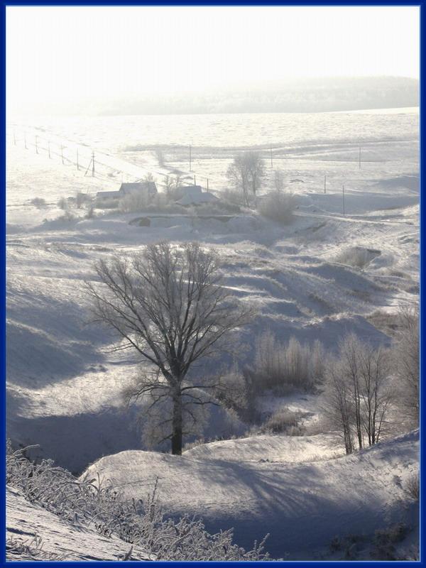 """фото """"эх....морозы, снег....русская зима"""" метки: пейзаж, весна"""