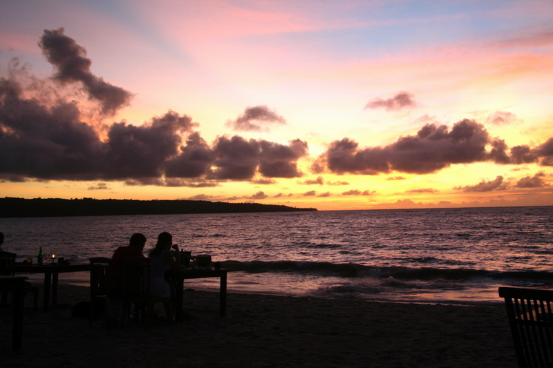 """фото """"Dinner on sunset"""" метки: пейзаж, вода, закат"""