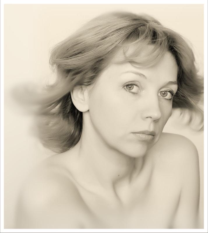 """фото """"Портрет в высоком ключе"""" метки: портрет, женщина"""
