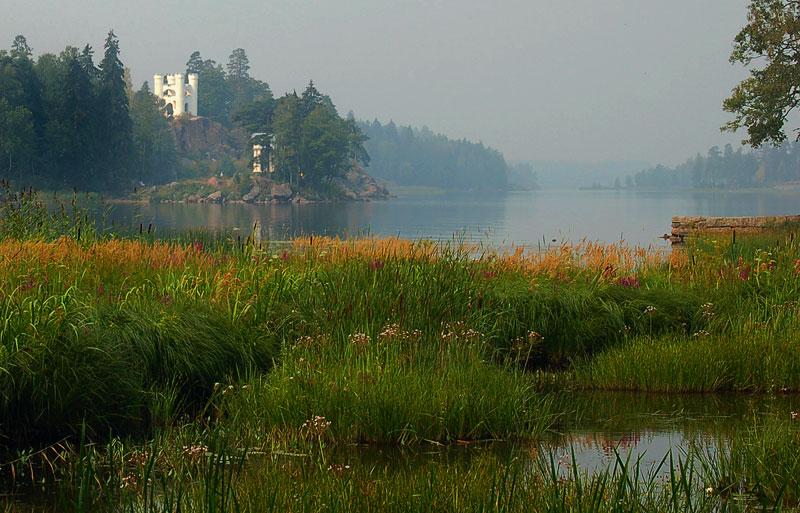"фото ""В парке Монрепо"" метки: пейзаж, вода, осень"