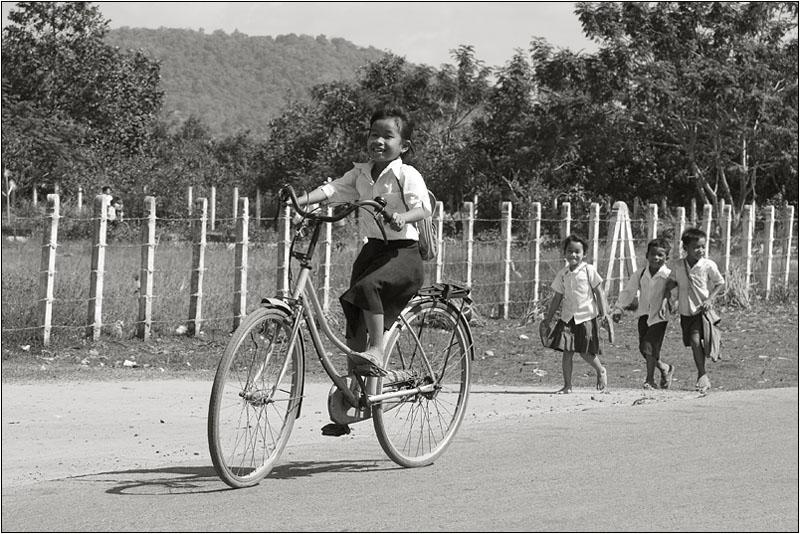 """фото """"Камбоджийские детки."""" метки: черно-белые, портрет, дети"""