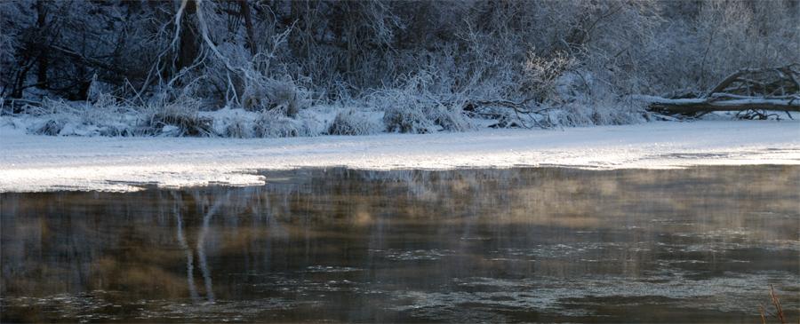 "фото ""тишина"" метки: пейзаж, вода, зима"