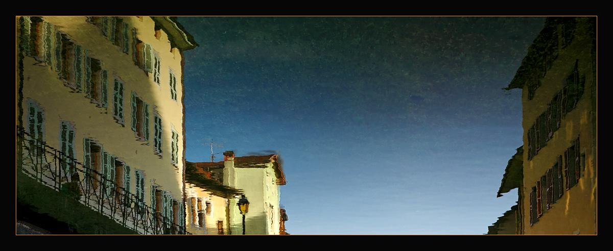 "фото ""Upside reflection"" метки: пейзаж, панорама, вода"
