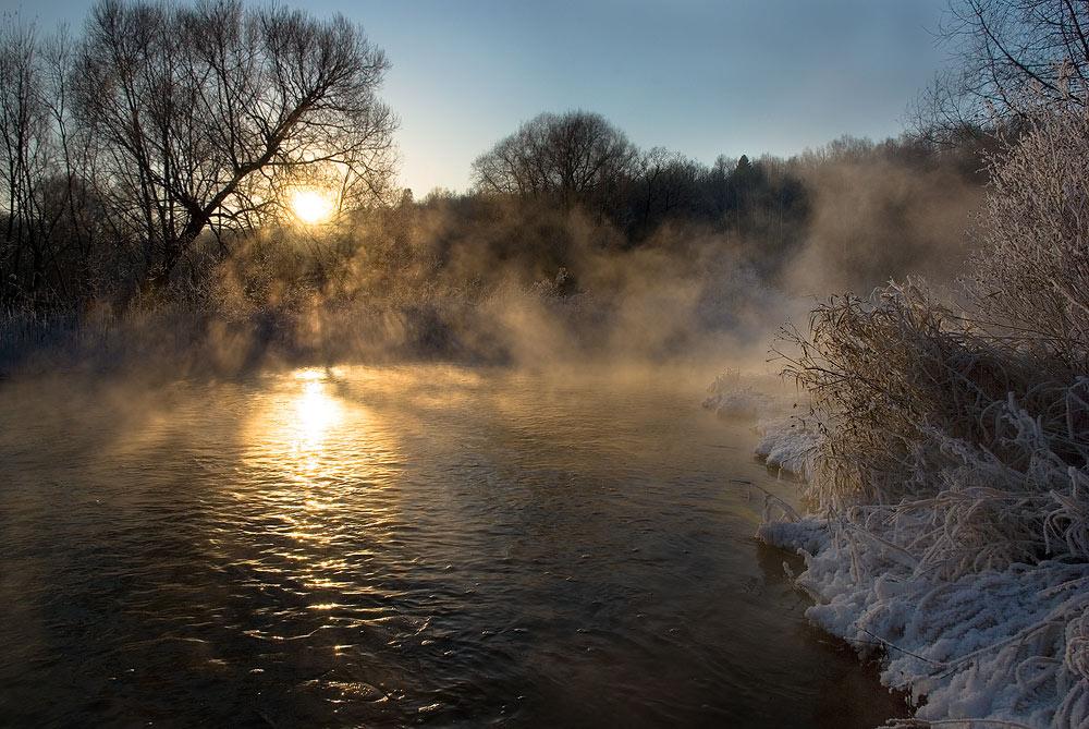 """фото """"Зимняя сказка"""" метки: пейзаж, вода, зима"""