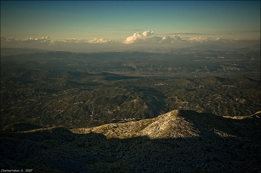 """фото """"Вниз и вперёд."""" метки: пейзаж, путешествия, горы"""