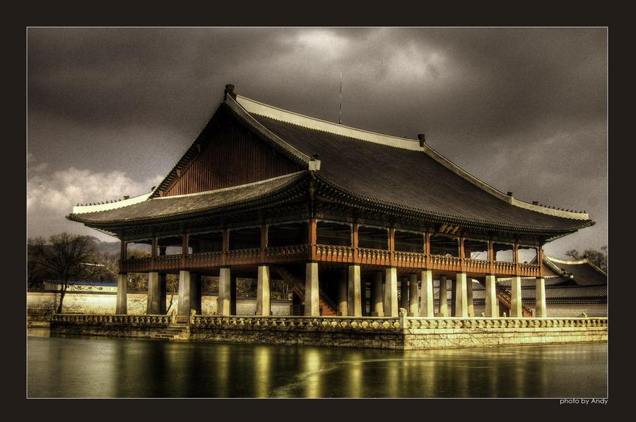 """фото """"Кёнбоккун. Императорский дворец."""" метки: путешествия, Азия"""