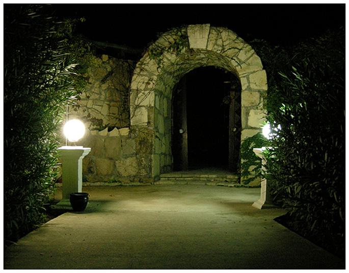 """фото """"Врата"""" метки: архитектура, пейзаж, ночь"""