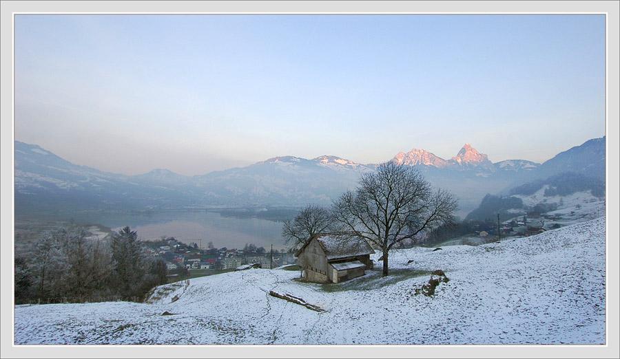 """фото """"новогодняя обнадёживающая"""" метки: пейзаж, горы"""
