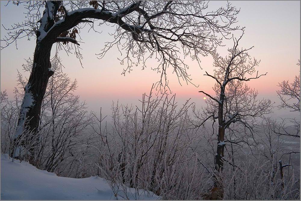 "фото ""Раннее утро..."" метки: пейзаж, закат"