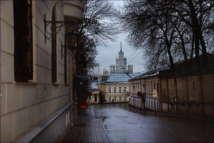 "фото ""Московские улочки"" метки: архитектура, пейзаж,"