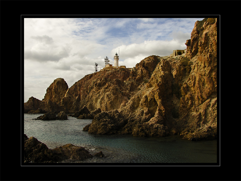"photo ""Faro de Cabo de Gata"" tags: landscape,"