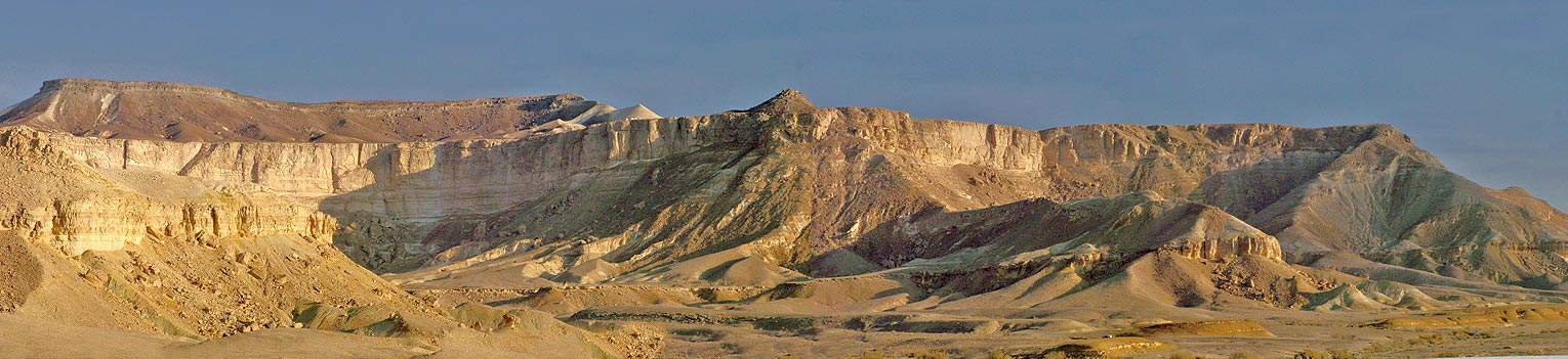 "photo ""Land of Abraham, the Negev Desert"" tags: landscape, panoramic,"