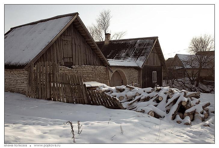 """фото """"Утро нового года"""" метки: пейзаж, зима"""