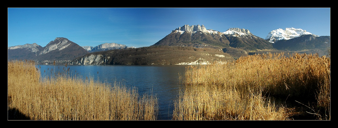 "photo ""Of Gold and Blue"" tags: landscape, mountains, winter"
