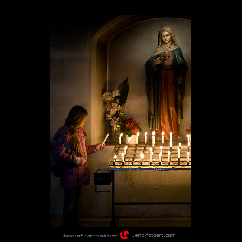 "photo ""a candle for mam and pa . . ."" tags: portrait, misc., children"