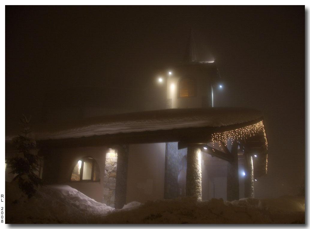 """фото """"В тумане."""" метки: архитектура, путешествия, пейзаж, Европа"""
