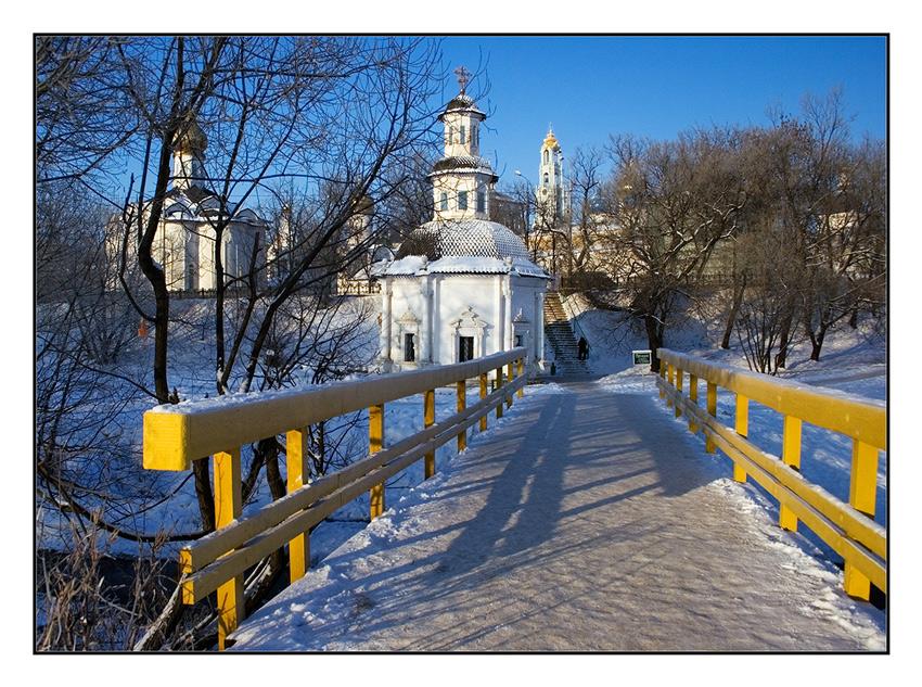 """фото """"..."""" метки: пейзаж, зима"""