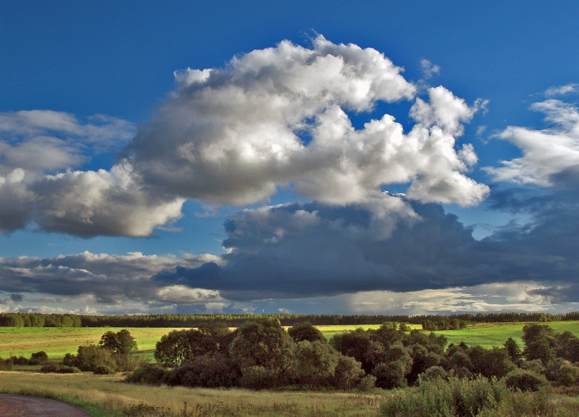 "photo ""***"" tags: landscape, clouds, summer"