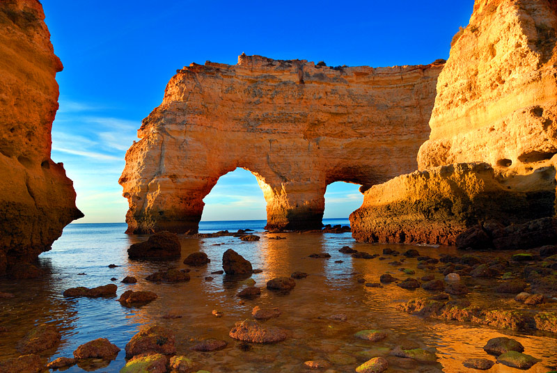 "photo ""Marinha's beach - Algarve - Portugal"" tags: landscape,"