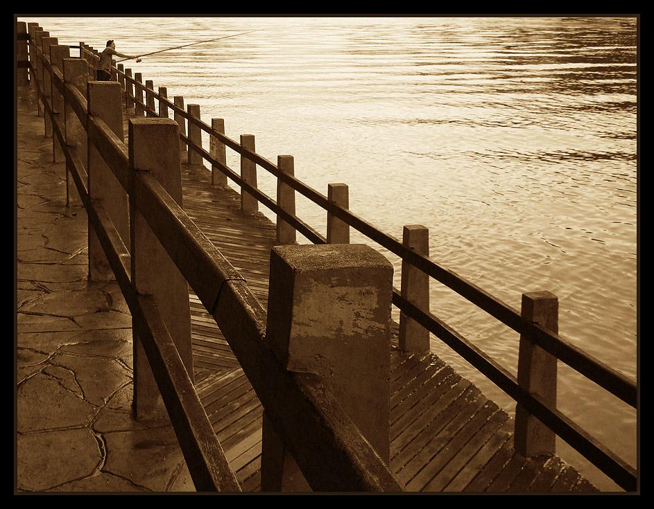 "фото ""Fishing in perspective..."" метки: пейзаж,"