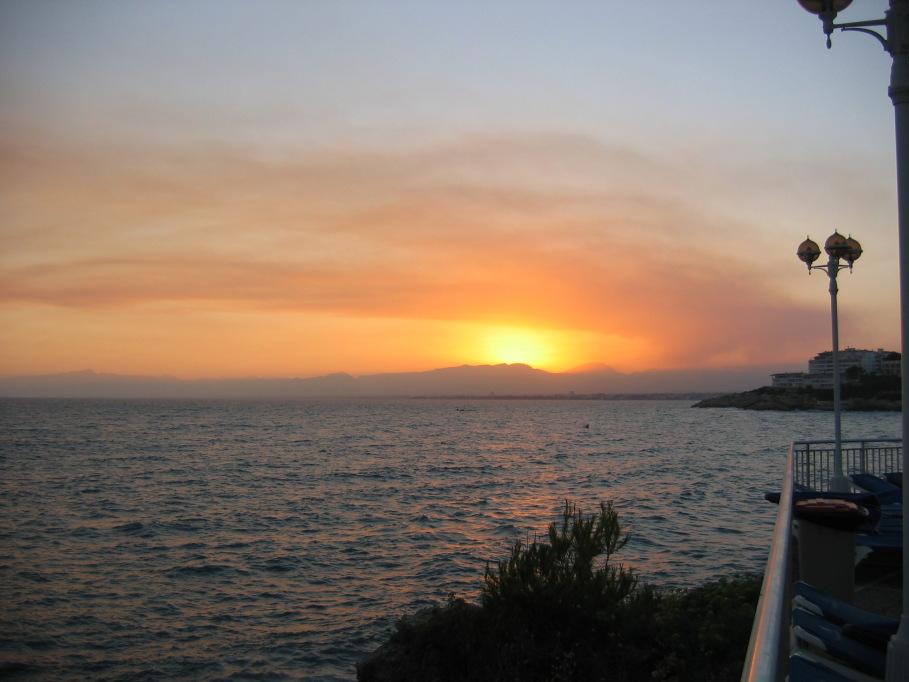 """фото """"На веранде"""" метки: пейзаж, закат"""