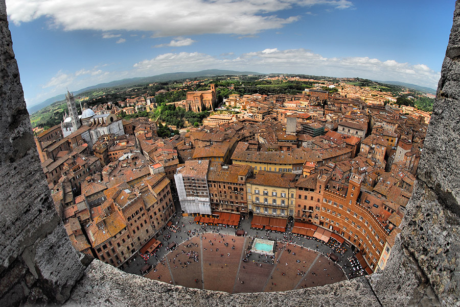 "photo ""Siena - from the high of the centuries"" tags: city,"