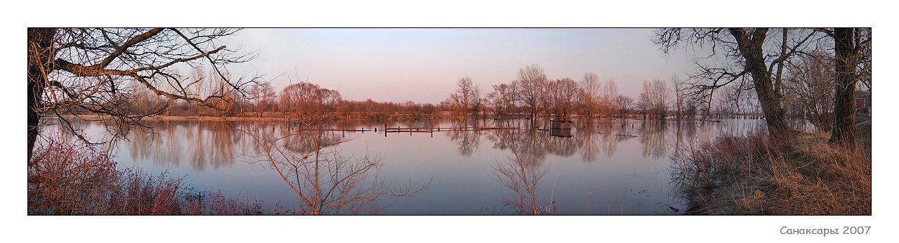 "фото ""Санаксары 2007"" метки: пейзаж, панорама, весна"