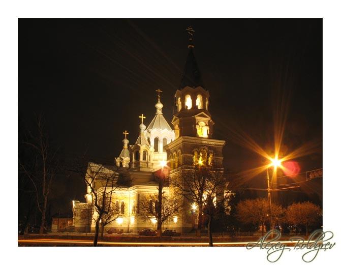 """фото """"Ночной собор"""" метки: город, разное,"""