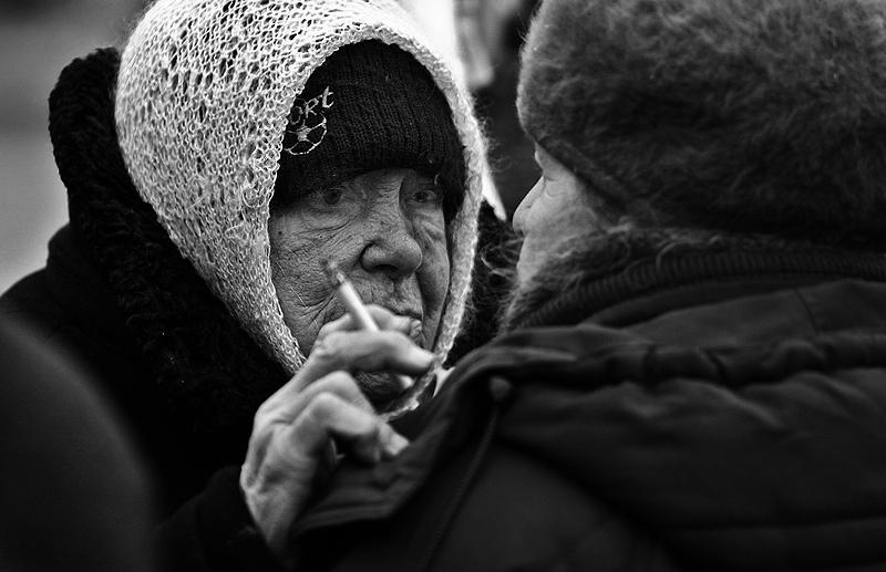 "фото ""Старые подруги"" метки: репортаж, жанр,"