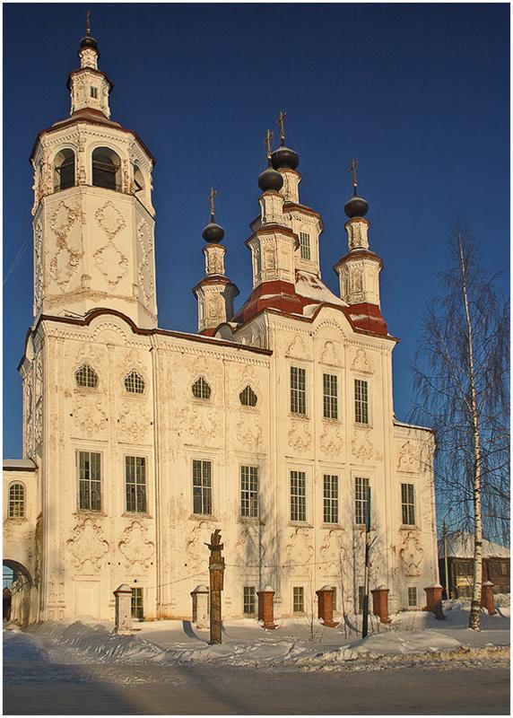 "photo ""Totemskoe Baroque"" tags: architecture, landscape,"