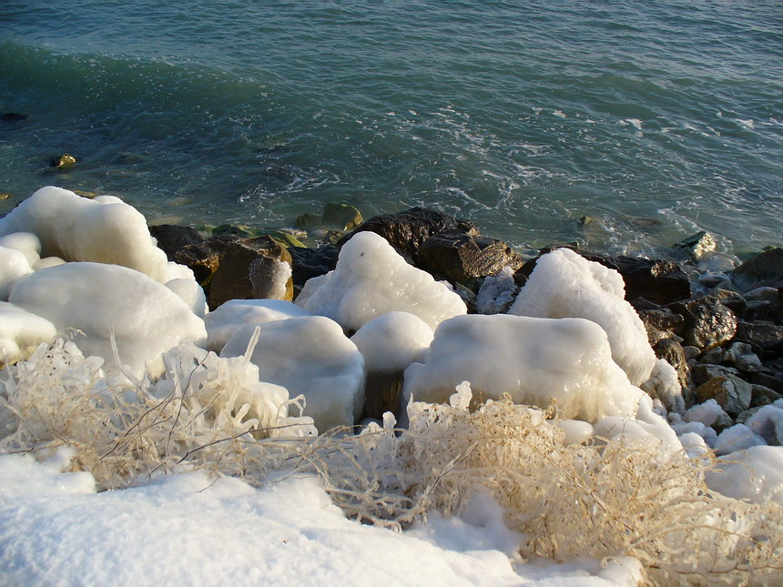 "photo ""warm ice"" tags: landscape, winter"