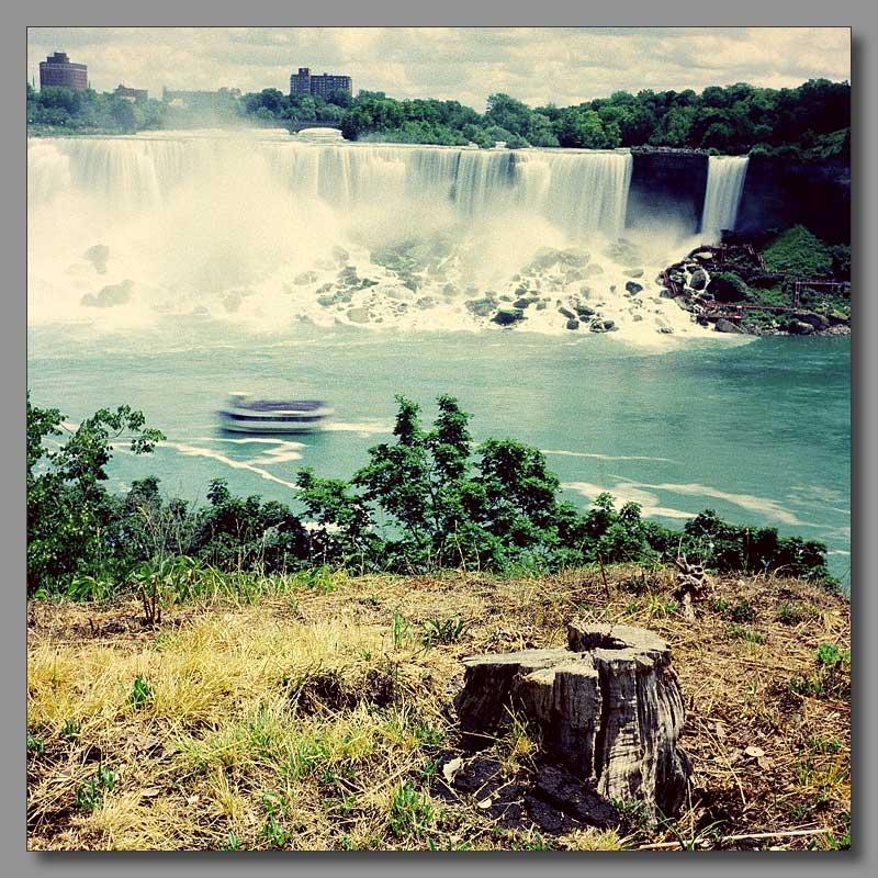 """фото """"Ниагарский водопад с живой водой"""" метки: пейзаж, вода, лето"""