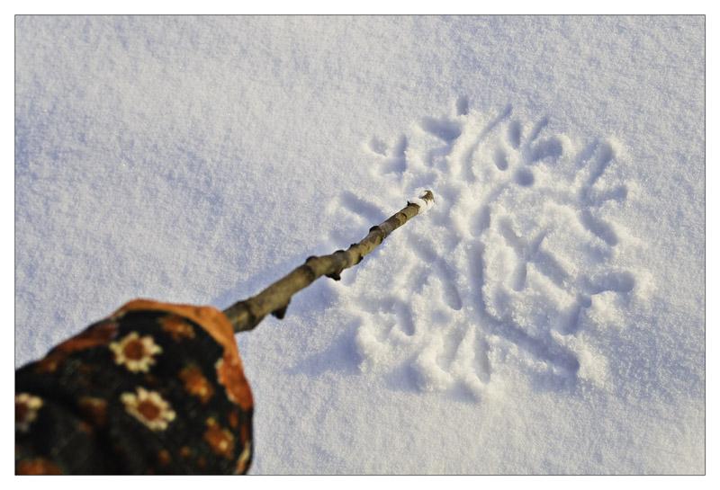 """фото """"Drawing"""" метки: пейзаж, разное, зима"""