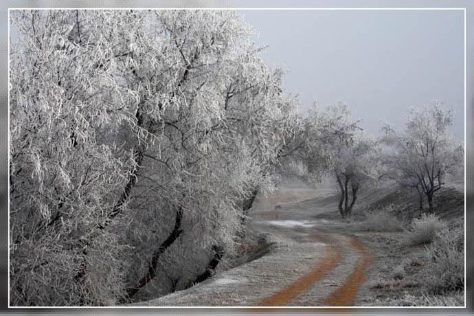 """фото """"Самый северный КРым..."""" метки: пейзаж, зима"""