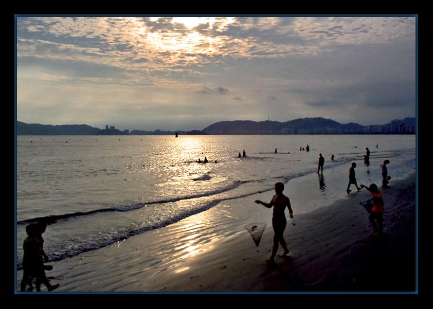 """фото """"Time to play"""" метки: пейзаж, вода, закат"""