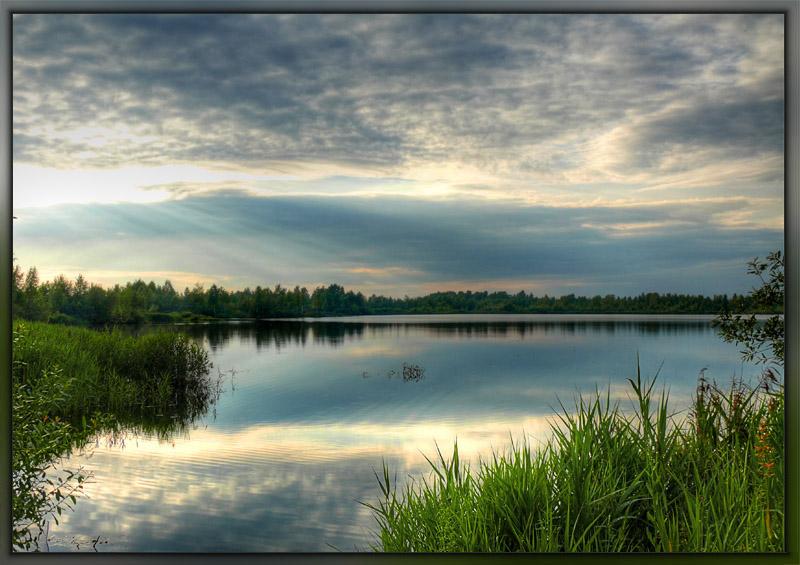 """фото """"Лучи"""" метки: пейзаж, вода, лето"""