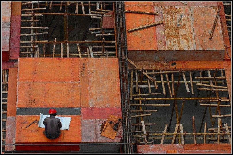 "фото ""At Building Site"" метки: репортаж, путешествия, Азия"
