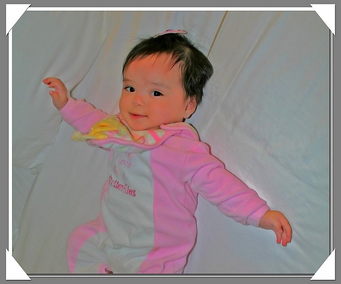 "photo ""Butterflies Are Free"" tags: portrait, montage, children"
