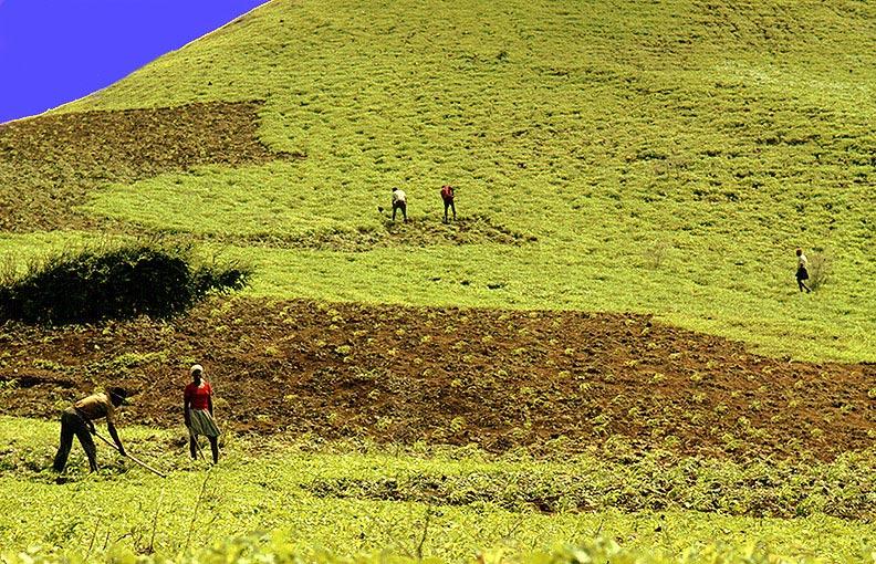 """фото """"NO RAIN LAND"""" метки: пейзаж, путешествия, Африка, горы"""