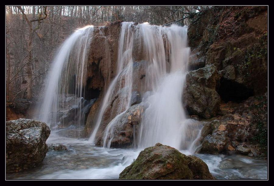 """фото """"""""Серебряные струи"""""""" метки: пейзаж, вода"""