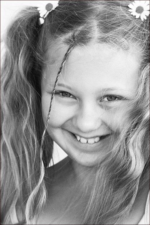 """фото """"Ромашка летняя."""" метки: портрет, дети"""