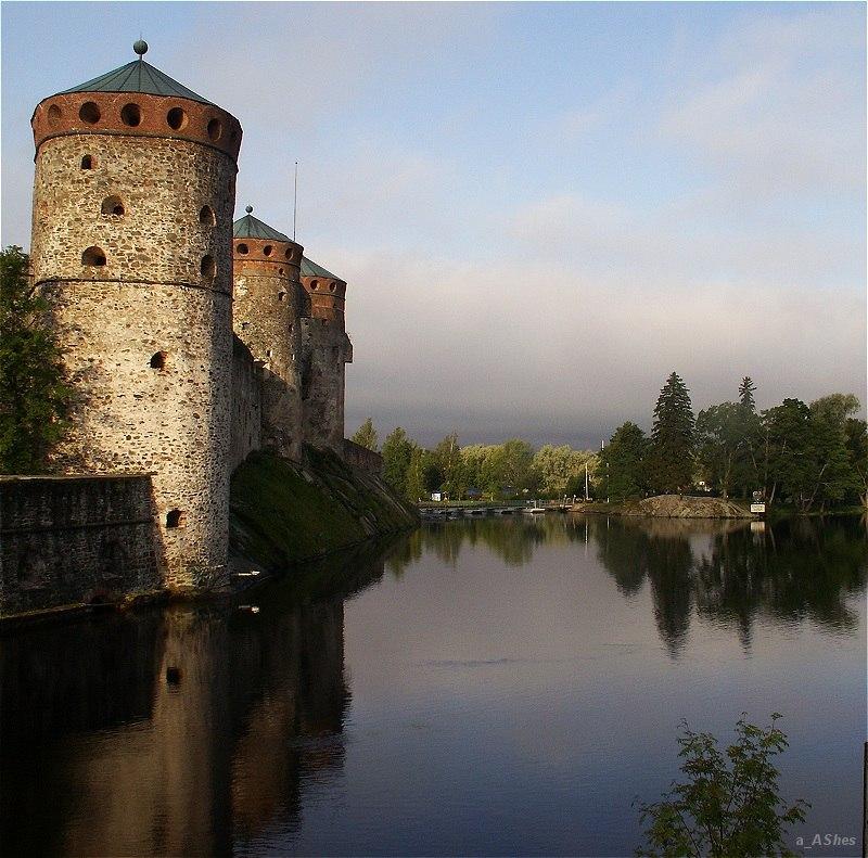 "photo ""17th Century Colours Цвета Семнадцатого Века"" tags: architecture, landscape, water"