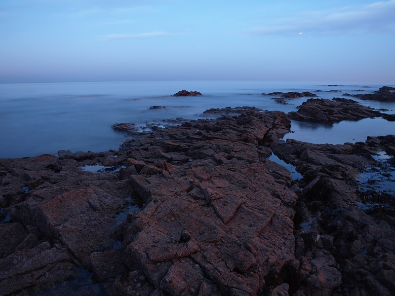 "photo ""The Sea at Night"" tags: landscape, night, water"