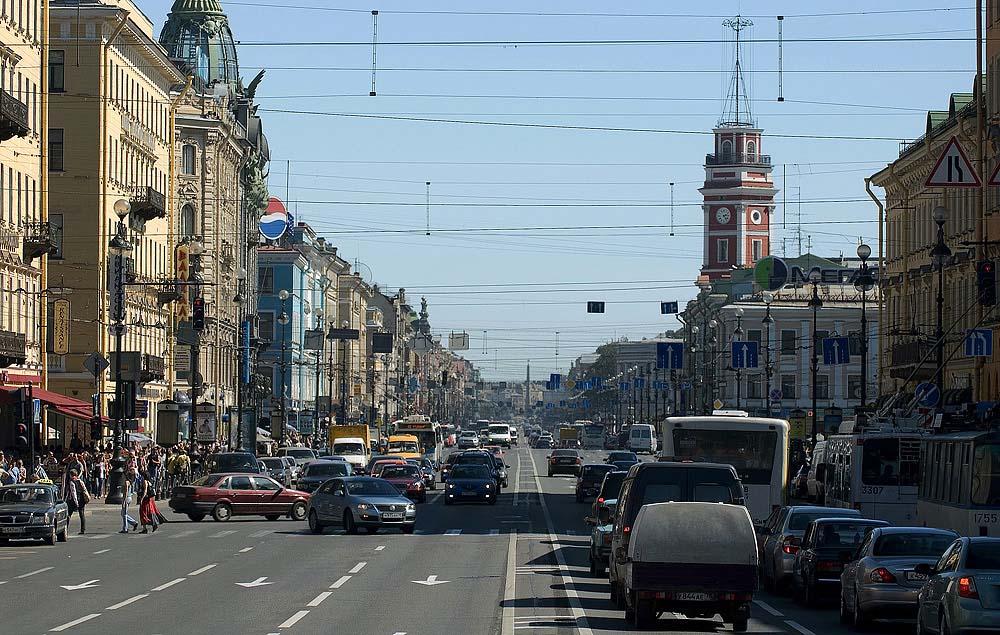 """фото """"NEVSKIY PROSPEKT , St. Petersburg"""" метки: архитектура, пейзаж,"""