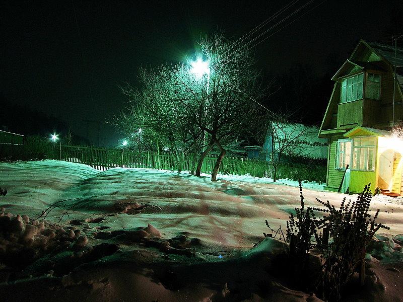 """фото """"Новогодняя сказка"""" метки: пейзаж, ночь"""