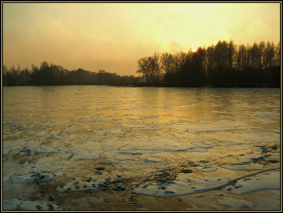 "фото ""Бегущие по волнам.....убежали"" метки: пейзаж, закат"