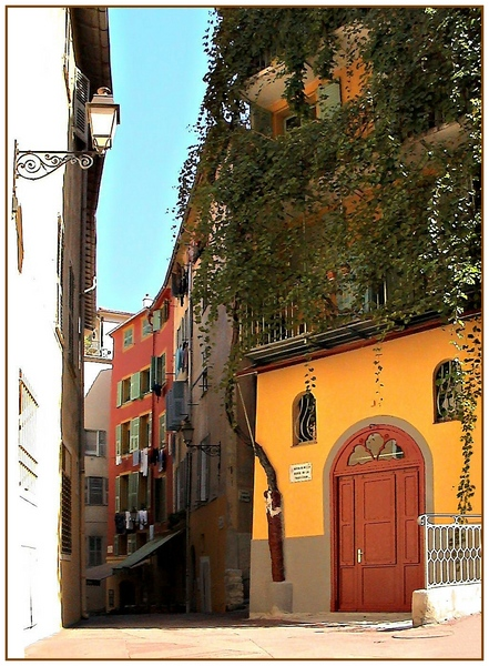 "photo ""Corner of Nice"" tags: architecture, travel, landscape, Europe"