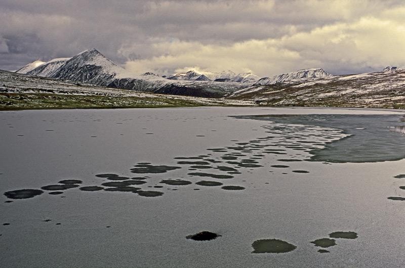 """фото """"Кулик-Турское озеро. Приполярный Урал."""" метки: пейзаж, горы"""
